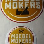 Firmenschild Möbel Mokers