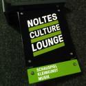 Apartes Aushängeschild für Noltes Culture Lounge