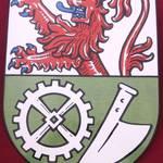 Wappenschild in Form nach Fotodatei