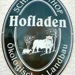 Hofladenschild Scharfenhof