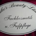 Firmenschild für Kosmetikstudio