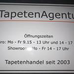 Firmenschild TapetenAgentur