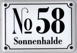 Variante No 58 Sonnenhalde