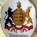 Württemberg-Wappen oval