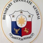 Konsulatsschild Philippinen