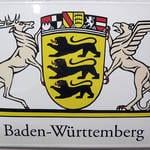Landeswappen groß Baden-Württemberg