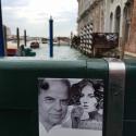 Fotoschild für Gedenkstätte am Canale Grande