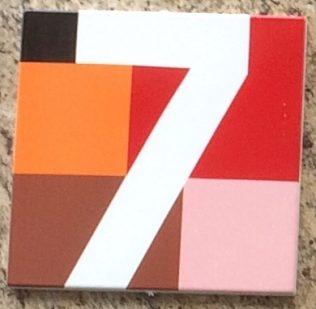 Design-Hausnummern von Anton Stankowski